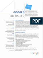 Google the Dalles Data Center