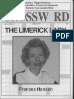 """The Limerick Lady"