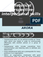 Topic 1 _interpersonal Skills Literature Review
