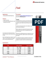 WR Retrieving Tool Product Datasheet