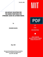 An Explicit Solution for the Green Functions for Dynamic Loads in Layered Media - E. Kausel