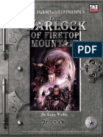 FIGHTING FANTASY the Warlock of Firetop Mountain
