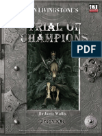 FIGHTING FANTASY Trial of Champions