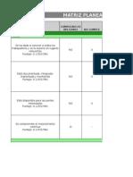 Matriz Planeacion y Presupuesto Sso Novacero