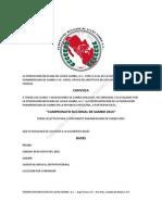 FMLS - Convocatoria Nacional de Sambo 2015