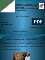 La Telepresencia-exposicion Jenifer Hernandez y Juan Diaz
