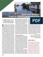 Publicación de La Revista Vida Nueva Sobre El PDP Del Canal Del Dique