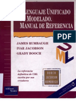 El Lenguaje Unificado de Modelado - Manual de Refer en CIA