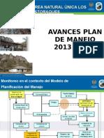 Plan de Manejo de Los Estoraques 2013-2017