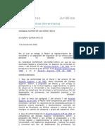 Acuerdo Superior 233-2002