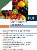 Alimentación,Nutrición y Dietética