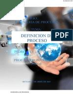 Definicion de Proceso