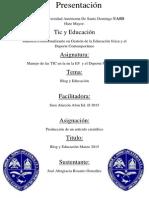 Blog Y Educacion - Jose Altagracia Rosario Gonzalez