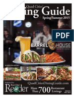 Quad Cities' Dining Guide - Spring-Summer 2015 - A