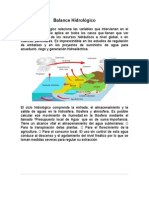 1.2 Balance Hidrológico
