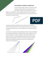 Resolución de Problema Con Modelos Geometricos