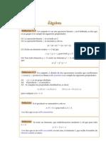 ÁLGEBRA-ANILLOS