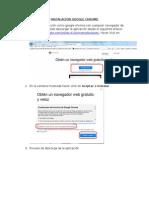 Instalación Google Chrome