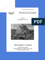 Tradurre Il Cinema