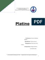 informe geologia