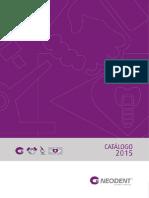 Neo Dent Catalogo 2015