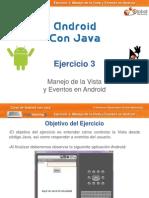 Curso Android - Ejercicio 03 - Manejo de La Vista