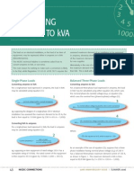 Converting Kva to A