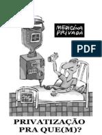 Privatização pra que(m)? - Cartilha da DENEM (2009)