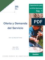 Oferta y Demanda Del Servicio