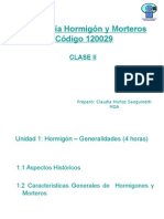 Clase 2 - Hormigón, Generalidades.ppt