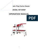 WP-5050F Carton Sealer English Manual