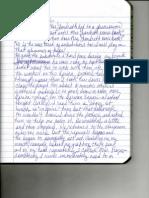handwritten journal notes 3 of 3