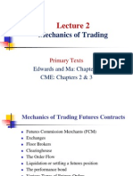 Lecture 2 - Mechanics of Trading