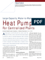 Heat Pumps for Centralized Plants