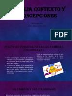 Familia Contexto y Concepciones