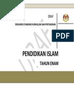 DSKP Pend Islam Tahun 6 18 Mac 2015