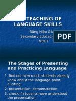 The Teaching of Skills