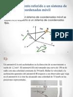 1.4. Movimiento Referido Sistema Coordenadas Moviles