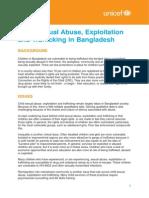 Child Abuse Exploitation and Trafficking