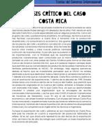 Analisis Crítico Del Caso Costa Rica y Ensayo