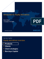 Equity Derivatives - Barclays