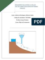2da Monografía, Flujo No Permanente de Depósitos Con Sección Variable