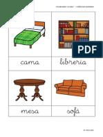 10ª Quincena - Tarjetas de Vocabulario - La Casa