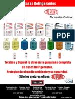 Refrigerantes Dupont