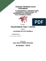 Glosario Telefonia Fija y Movil