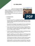 Informe Del Realismo-persona y Su Accion