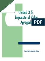 3unidad 3.5. Impuesto Al Valor Agregado Modo de Compatibilidad