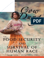 Cow Dung for Food Security and Survival of Human Race