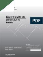 32AV800 Owner Manual L