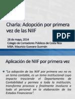 32 NIIF Primera Vez